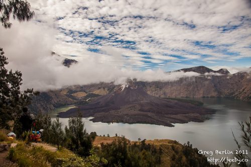 Gunung Rinjani Crater, Lombok, Indonesia