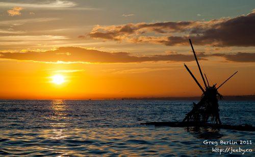 Lovina Sunrise, Bali, Indonesia