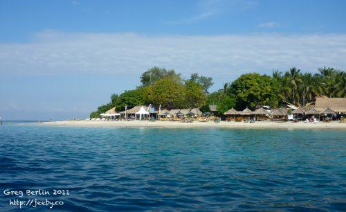 Gili Air beach (near Scallywags), Lombok, Indonesia