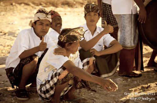 Hindu Festival at Sekotong, South Lombok, Indonesia