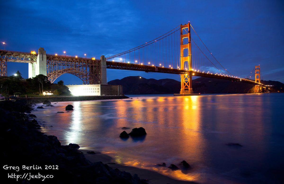 Golden Gate Bridge @ San Francisco, USA