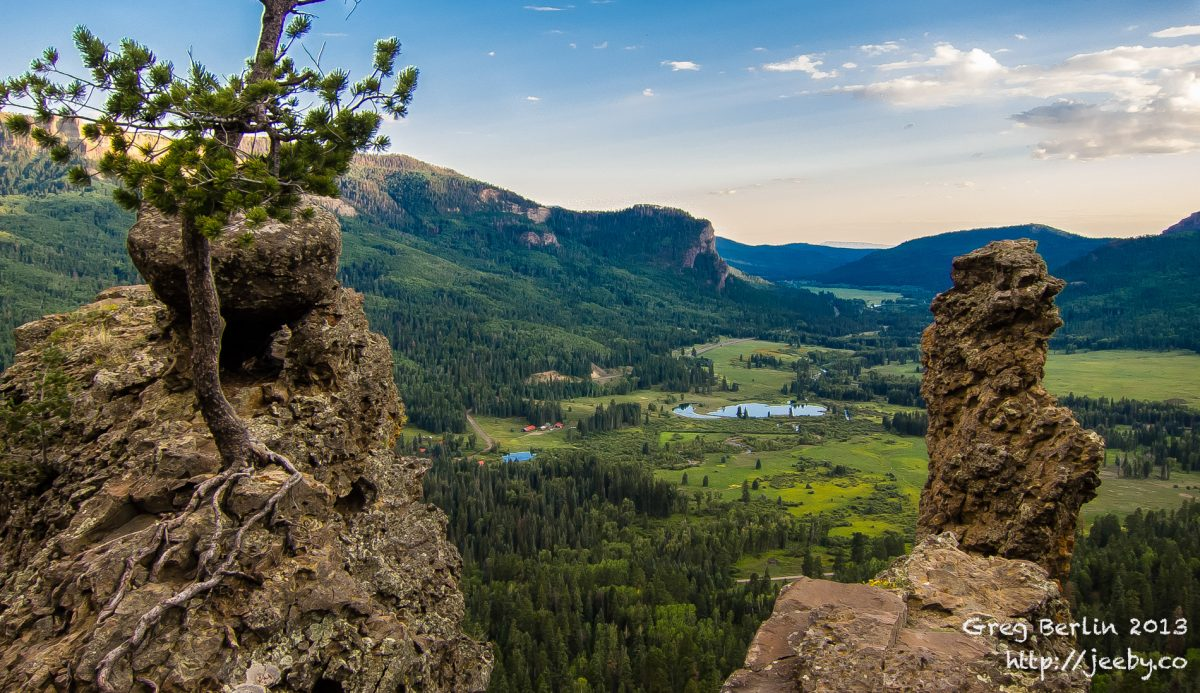 Pagosa Valley, Colorado, USA
