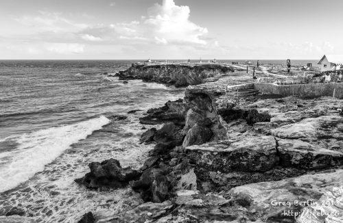 Punta Sur Coastline, Isla Mujeres, Mexico