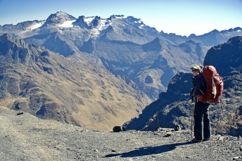 Gorgeous Views at the start of the El Choro Hike in Bolivia