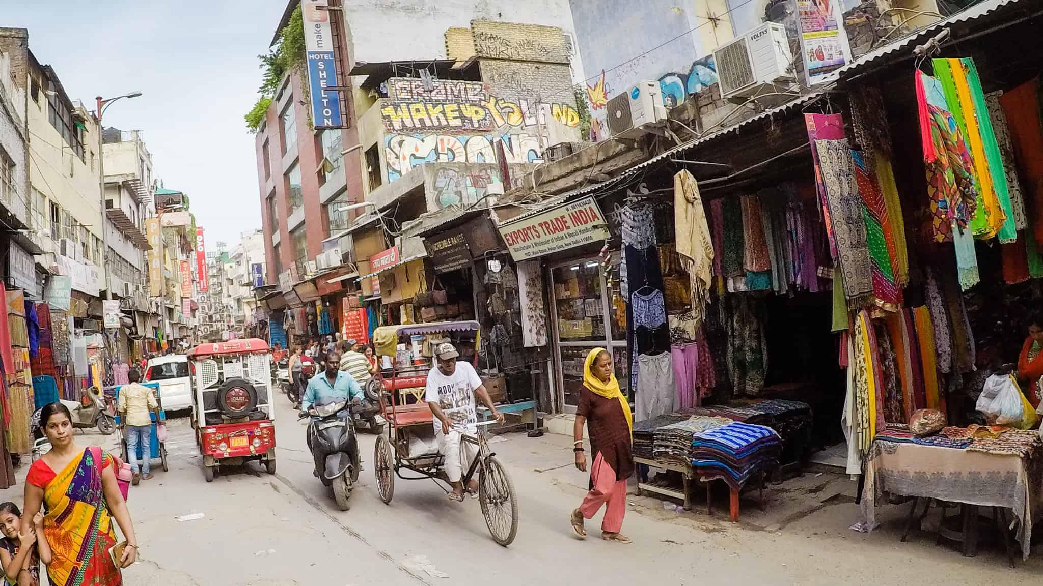 Streets of Paharganj
