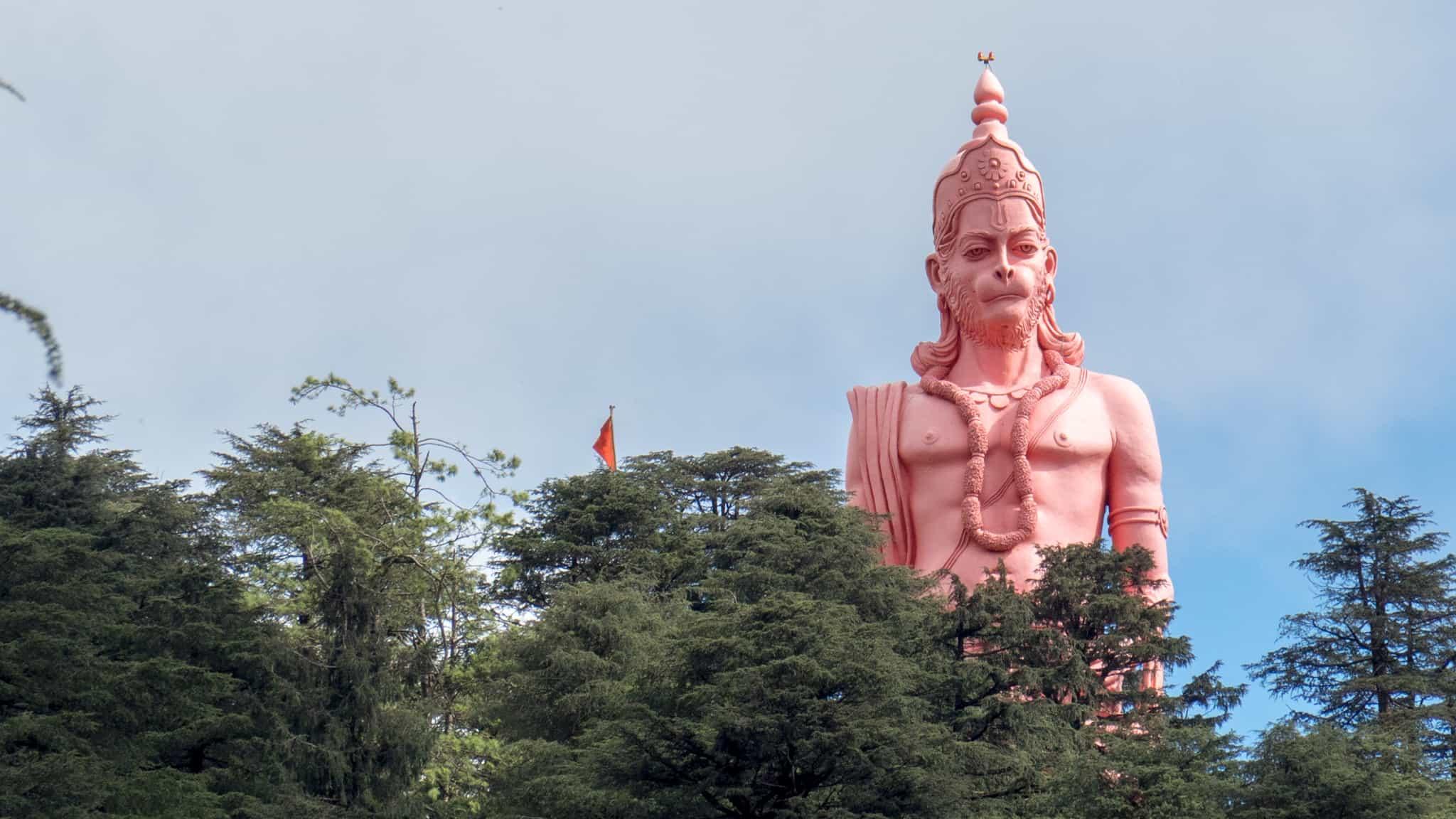 Hanuman overlooking Shimla