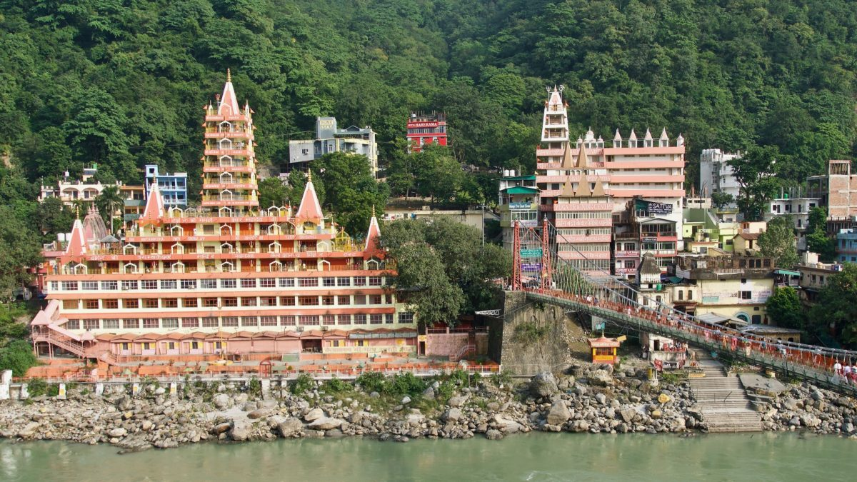 Rishikesh Yoga Village Wide